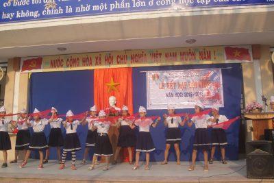 Liên đội Trường TH Đoàn Nghiên tổ chức Lễ kết nạp Đội viên